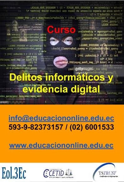 Curso Delitos informáticos y evidencia digital